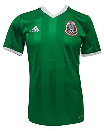 96b32b4b379 adidas International Soccer Mexico Men's Jersey, Small, Green/Red/White
