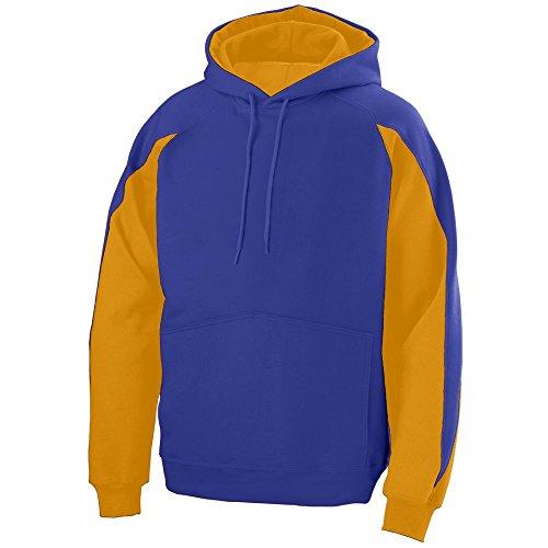 Augusta Sportswear Men's Volt Hoodie L Purple/Gold