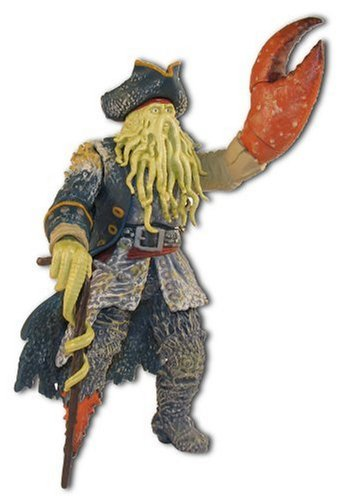 Pirates of the Caribbean  Claw Snapping Davy Jones 7  action figure