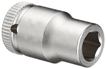 """Wera Zyklop 8790 HMA 1/4"""" Socket, Hex head 1/4"""" x Length 23mm"""