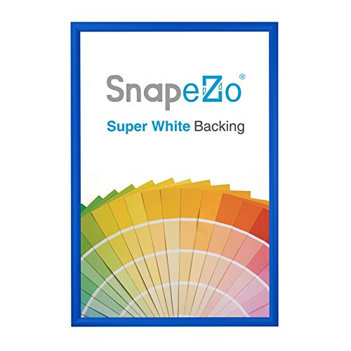 SnapeZo Poster Frame 36x48 Inches, Blue 1.2\