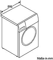 Bosch WAW285W5 Serie 8 - Lavadora frontal/A+++ / 97 kWh/año / 1400 rpm / 8 kg/color blanco/Home Connect/i-DOS dosificador automático Lavadora. Blanco: Amazon.es: Grandes electrodomésticos