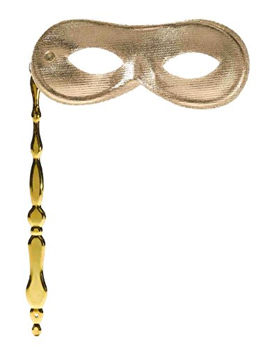 Gold Mask on a Stick