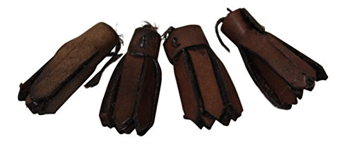 (Brown Ghillie Brogue Laces and Tassels Kilt Shoe Replacements)