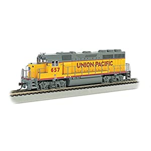 Bachmann End GP-40 Locomotive-Union Pacific #657 Hobby Train, Multicolor