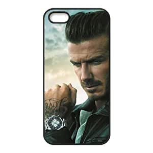 Sports david beckham iPhone 5 5s Cell Phone Case Black Gift xxy_9878481