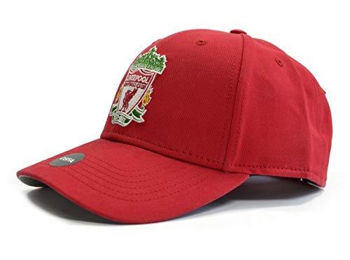 Liverpool FC Red Crest Cap - Authentic EPL Merchandise
