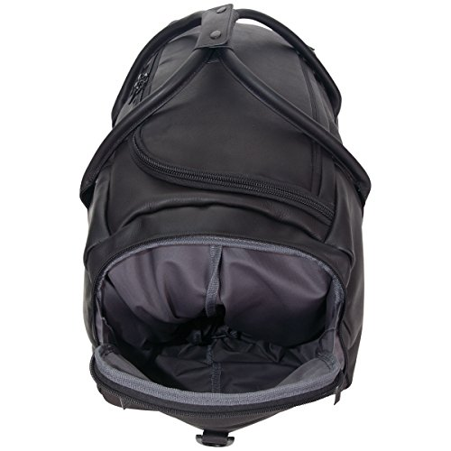 """41Vaddis5rL - Kenneth Cole Reaction Duff Guy Colombian Leather 20"""" Single Compartment Top Load Travel Duffel Bag, Black"""