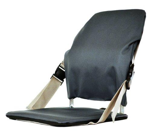 - Mc Carty's Sacro-Ease Sports Portable Stadium Seat with Lumbar Pad, Grey