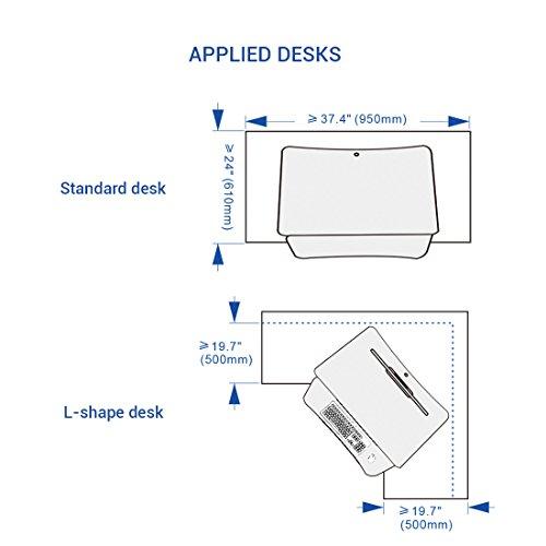 Flexispot M2b Standing Desk 35 Quot Wide Platform Height