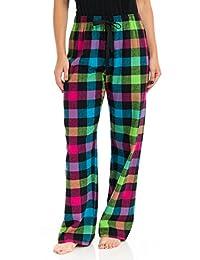 Boxercraft Women's Team Pride Flannel Pants F19-Zebra-S