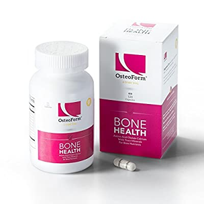 Osteoform Amino Acid Chelate Calcium Capsules (120) Promotes Bone Density