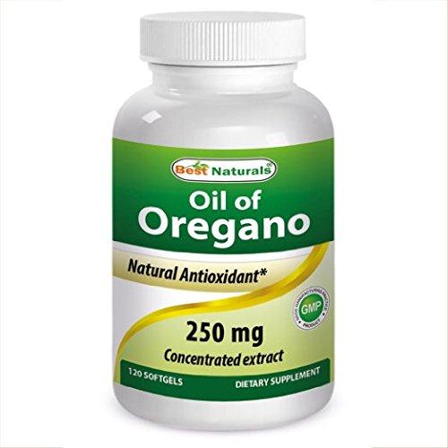 Best Naturals Oregano Oil  Mg