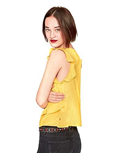 Giallo Pesd Donna Zaida Pepe Jeans Pl303365 Top q0zZH1x