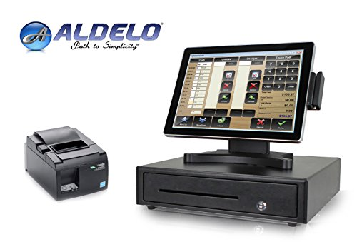 Restaurant POS System - Includes Aldelo POS Software + Point of Sale Hardware Bundle - Perfect for Restaurants and Bars - Restaurant System