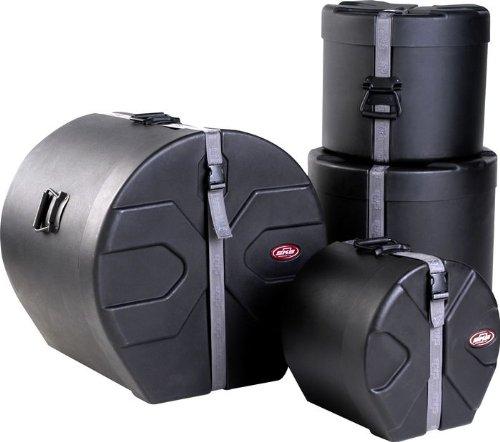 UPC 789270162211, SKB Drum Set 2 Kit (10x12, 12x14/13, 16x16, 16x22) with Padded Interiors