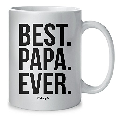 Muggies Best Papa Ever Mug - Christmas/Birthday/Father
