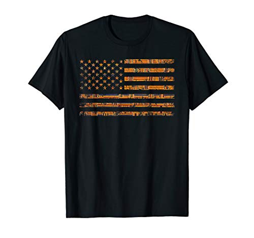 Melanin Shades American Flag Kente Dashiki Shirt Gift -