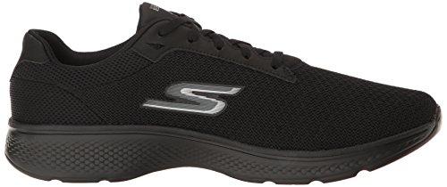 Skechers Herren Go Walk 4 Sneaker, Schwarz, 41 Eu Maglia Nera