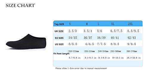 Scarpe Black Solid Immersione SABOLAY Donna da W0wq4z6pf