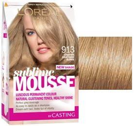 L Oreal Sublime Mousse 913 Exquisite Light Beige Blonde ...
