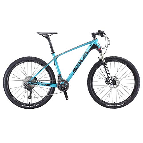 5. SAVADECK 700 Carbon Fiber Mountain Bike