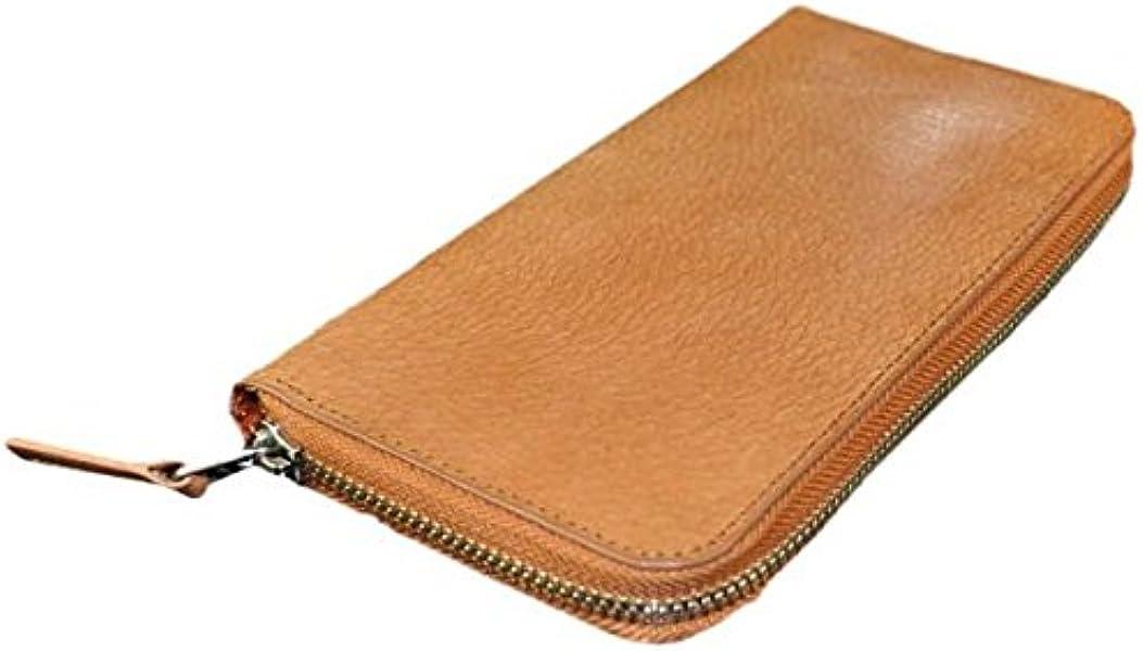 b6e27ff98f05 [ビームススクエア]BEAMZ SQUARE 財布 バッファローレザー製ラウンドファスナー長財布 メンズ BS-1677