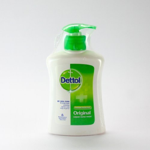 Dettol Liquid Hand Wash, Formulated for Everyday Hand Cleaning Use. (Original)