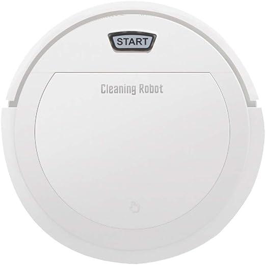LUCKYFF Robot Aspirador 3 en 1 Carga Inteligente hogar con ...