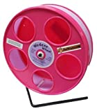 Rodent - Semi-Enclosed Exercise Wodent Wheel 'Junior' 8'' Choose Color (Lavender Pink)