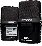 Zoom H2n Handy Handheld Digital Multitrack Recorder Bundle with APH-2n Accessory Pack, Earbuds, 1/8-Inch-to-RCA Cable, and 3.5mm Stereo Cable