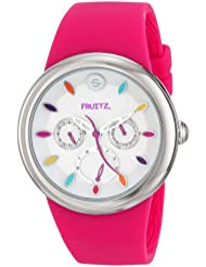 Fruitz by Philip Stein Unisex F43S-TF-HP Analog Display Japanese Quartz Pink Watch