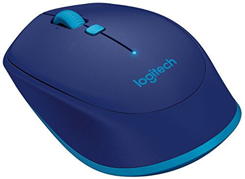 Logitech M535 Compact Bluetooth Wireless Optical Mouse for Mac, Windows, Chrome OS and Android Devices - Blue (Renewed)