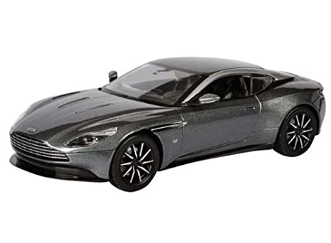 Amazon Com Grey Aston Martin Db11 1 24 Scale Die Cast Car Toys Games