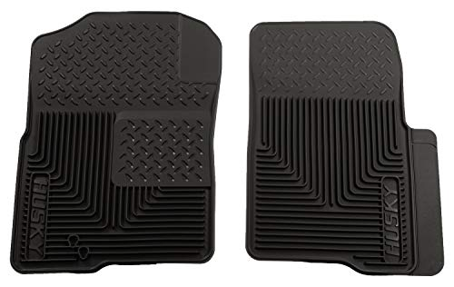 Husky Liners Front Floor Mats Fits 03-14 Expedition/Navigator, 04-10 F150 (Cut On Back Of Heel Won T Heal)