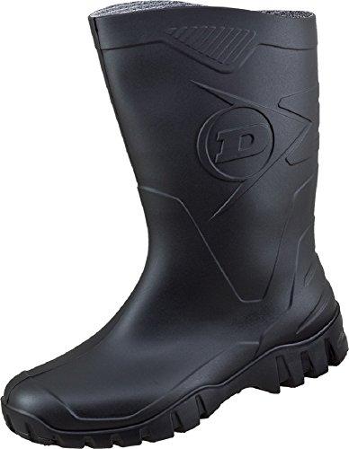 Dunlop Dee Kurzstiefel (45, schwarz)
