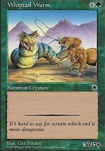 Magic: the Gathering - Whiptail Wurm - Portal