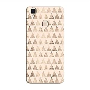 Cover It Up - Brown Pastel Triangle Tile V3 Max Hard Case