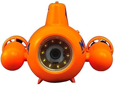 YAOHM Drone subacuático Mini RC Submarino 5.8G HD 2.4G Control ...