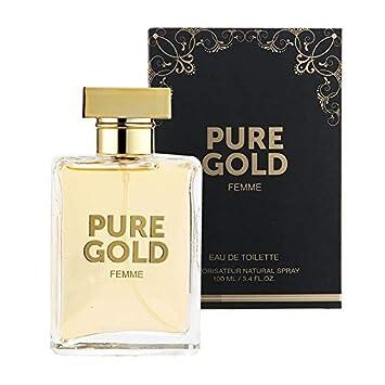 Pure Gold Femme Edt Perfume 100ml Amazoncouk Beauty