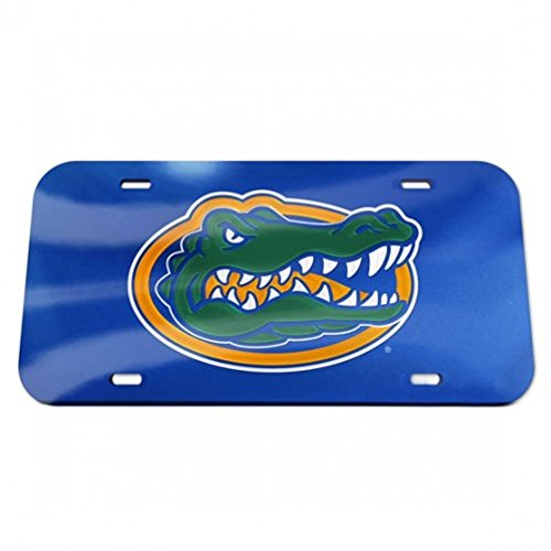 Florida Gators Logo Crystal Mirror License Plate