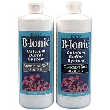 ESV Aquatics B-Ionic Calcium Buffer System, 2-part Calcium and Alkalinity Maintenance Kit for Salt Water Coral Reef Aquarium, 64 Ounce