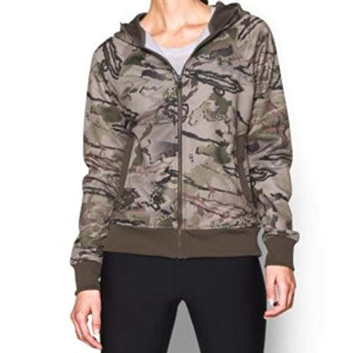 Under Armour UA Camo Full Zip Hoody - Women's Ridge Reaper Camo Barren / Hearthstone ()