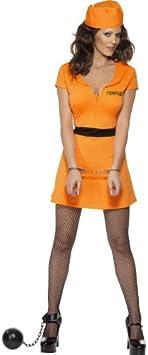 Desconocido Disfraz de presa sexy para mujer: Amazon.es ...