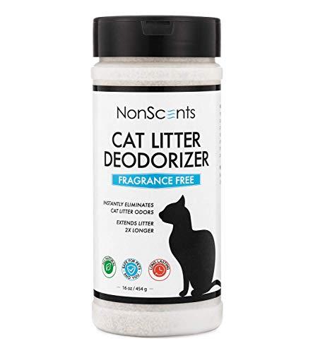 NonScents Odor Control Cat Litter Deodorizer - Professional Strength Odor Neutralizer, 16oz