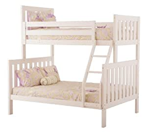 Amazon Com Canwood Alpine Ii Twin Over Full Bunk Bed With