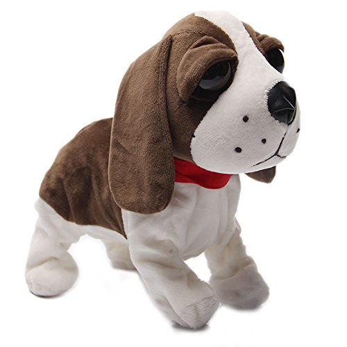 Nice Sound Management Digital Canines Interactive Digital Pets Robotic Canine Bark Stand Stroll Somersaults Digital Toys Canine For Kids Birthday Christmas Reward-Beagle Canine  Opinions
