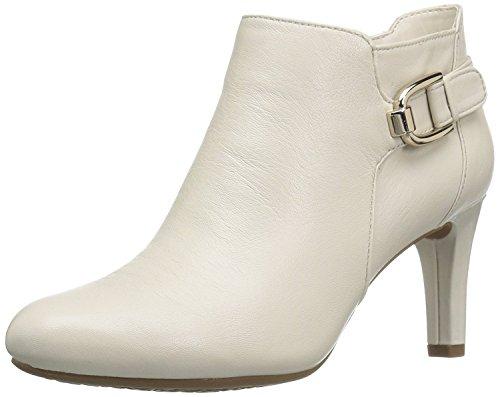 Bandolino Women's Layita Ankle Bootie, Bone, 8 M (High Heel Nappa Ankle Boot)