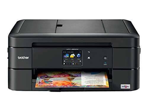 Brother Printer Wireless Color Photo Inkjet Printer with Scanner, Copier & Fax, Amazon Dash Replenishment Enabled