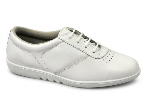 Leather Basso A Collo Boulevard White Donna F8WSvwgcP